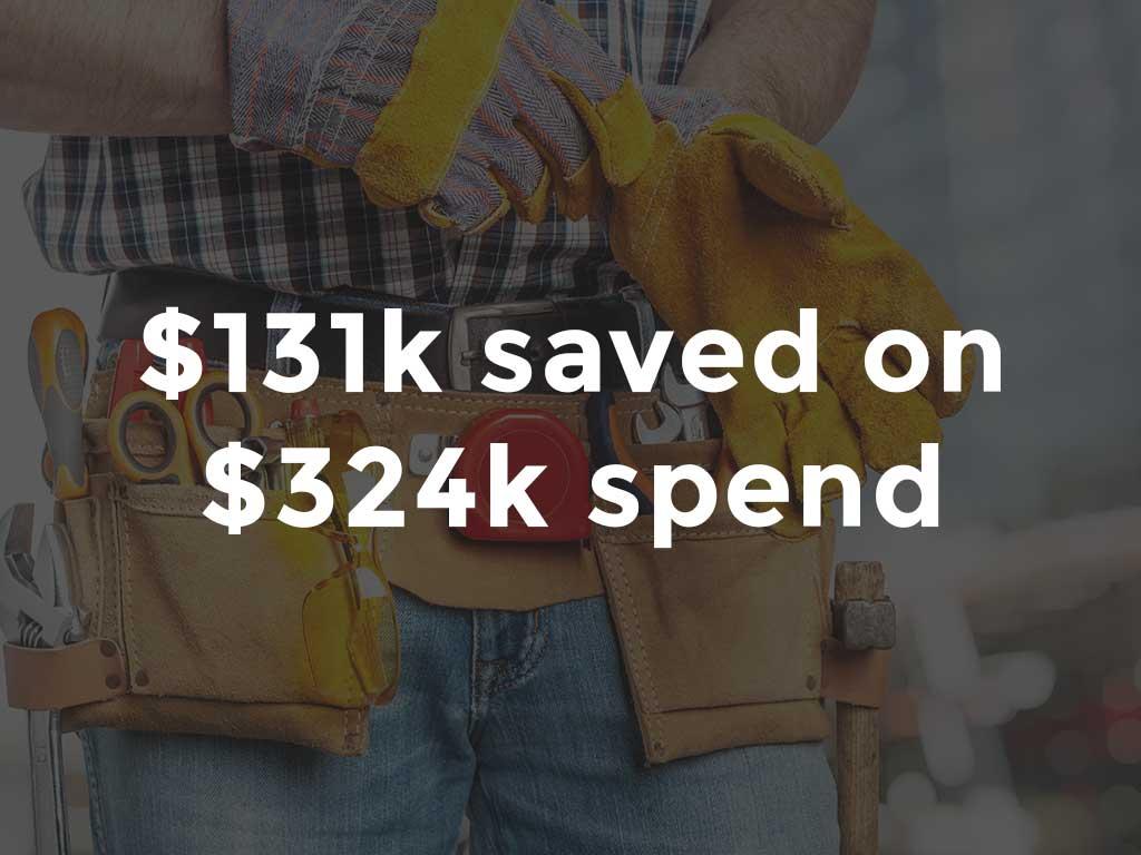 $131K savings on integrated property benchmarking